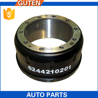 Taizhou GutenTop High Quality Heavy duty truck trailer competitive brake drum manufacturer OEM 6244210201