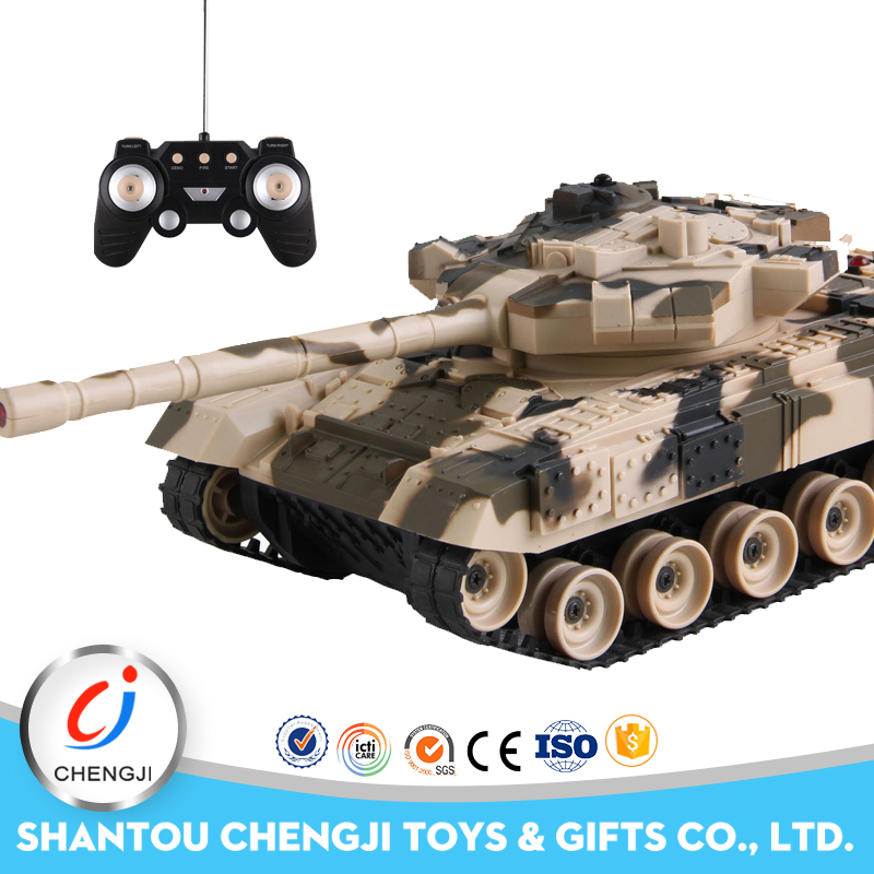 kids toy model Infrared military battle powerful rc tank 1 32