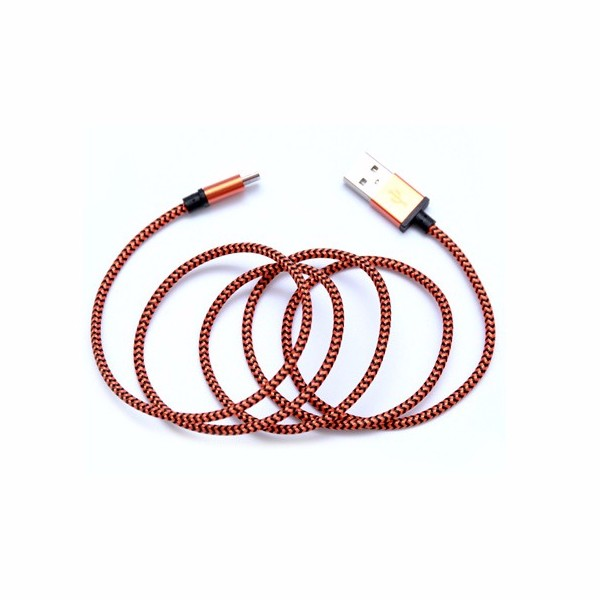 Metal Braided Micro USB Fast Data Charging Cable for Samsung Galaxy S7 S6 S5 S4