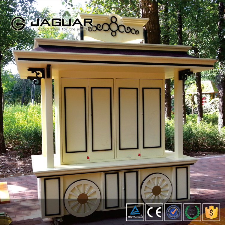 Manufacture outlet cheap retail container outdoor fast food kiosk for sale