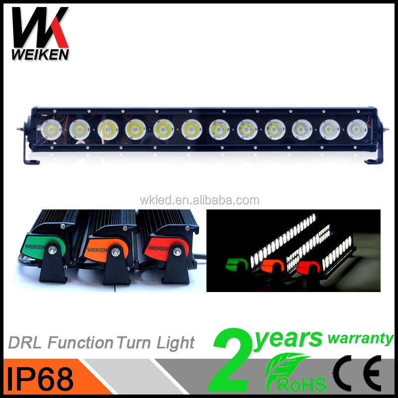 wholesale 21inch 120w super slim offroad led light bar aluminium led headlight for automobiles motorcycles