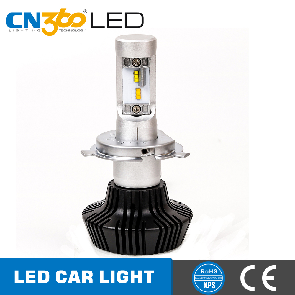 TWO COLORS h4 h7 9012 h11 9005 9006 led car headlight bulbs for cars