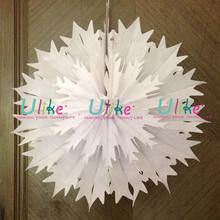 "16"" Tissue Fan Honeycomb Solid Color Party Round Hanging Decoration 11 COLORS"