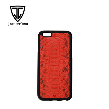 Wholesale Customized Color Python Leather Cell Phone Case Mobile Case Phone Cover