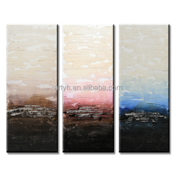 Latest Modern 3D Wall Panels Abstract Painting