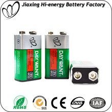 9V Battery for Meter and Fire Alarm, 9 volt 6F22 heavy duty battery in Shrink and Blister