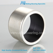 Stainless Steel DU Bush Dry copper Bearing, DP4 tin plating hydralic bushing, anti-tust good harden coated Bearing/bush