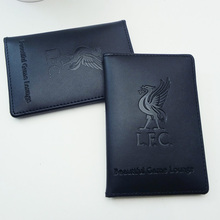 customized high quality leather golf club card holder