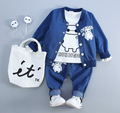 Wholesale Kids costume Baby boy clothes set fashion outfit