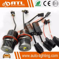Angel eyes XPE XTE chip with resistor CANBUS small KT connector car led marker