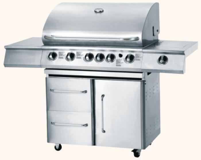 Beliebt gasgrill grill outdoor kuche grill im freien gas for Gasgrill küche