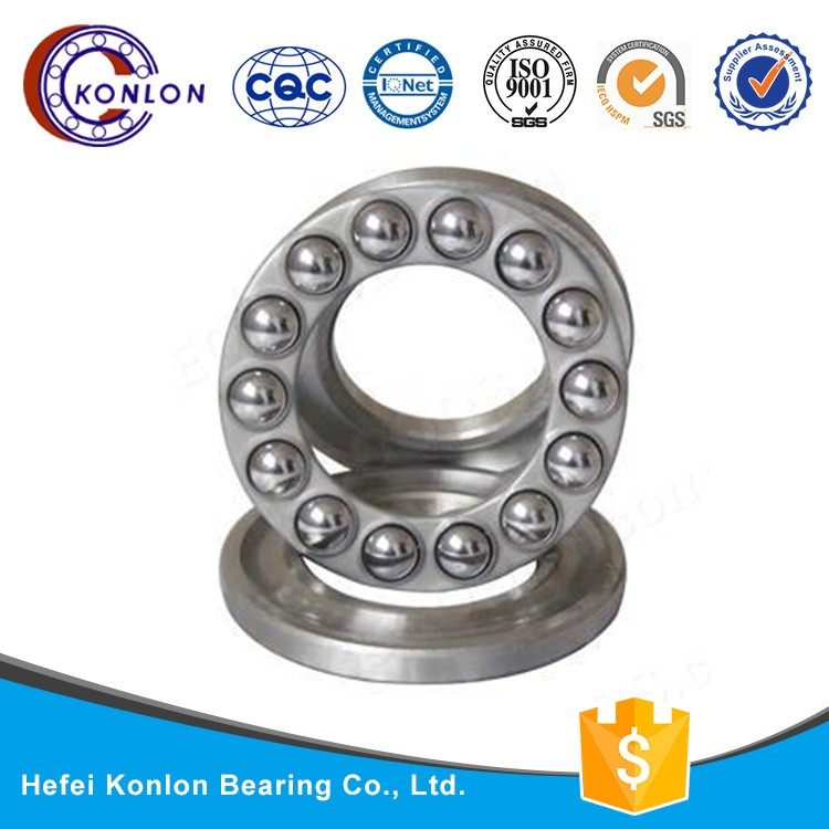 Hot sale KONLON brand 51216bearing high quality Thrust bearing 51 series high speed Thrust ball bearing