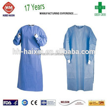 Medline Industries knitted cuffs Latex Free surgical gowns