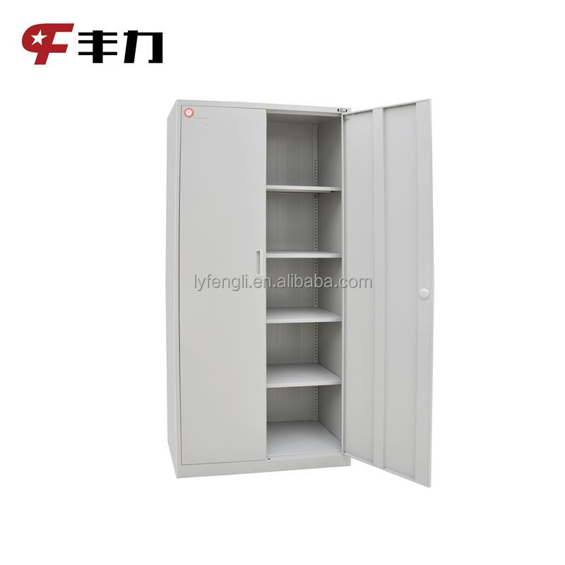 Double door low price steel almirah wardrobe cupboard