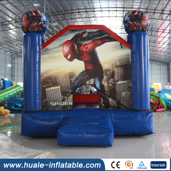 Commercial spiderman bounce house for sale