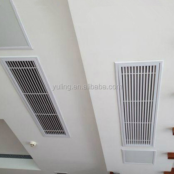exhaust air grill for used for central air-conditioning