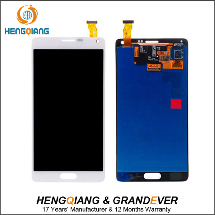 China Ali Wholesale 100% Warranty Original LCD For Samsung Galaxy Note 4 Edge LCD Display + Digitizer Touch Screen