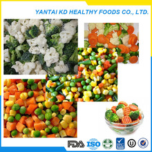 High-quality iqf bulk mixed vegetables frozen