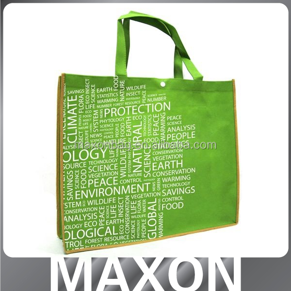 custom promotion easy carry non-woven bag for shopping
