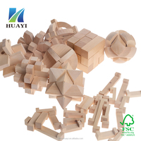 China Wholesale Wooden Brain Teaser