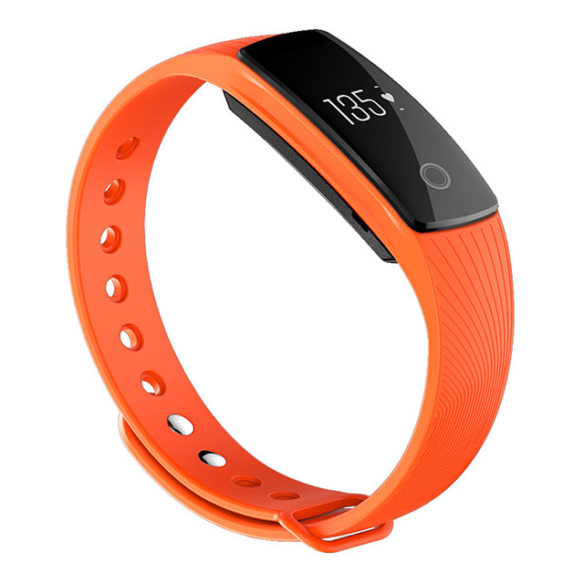 ID107 smart band Bluetooth 4.0 SmartBracelet Heart Rate Monitor Wristband Fitness Tracker smartband for Android iOS PK mi band 2