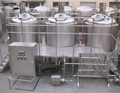 beer making equipment with rotary filler, beer processing machine 500l