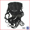 Body Wave blackest color 1# 65 cm human hair half wig competitive price