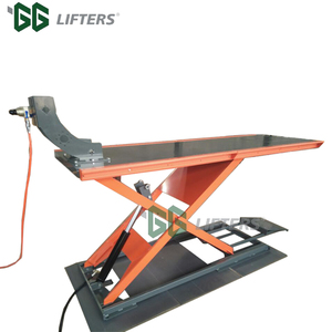 Hydraulic scissor auto lift for motorcycle