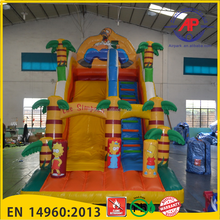 Inflatable coconut tree water slide for Sea