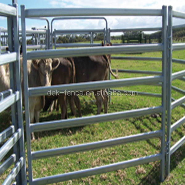 Heavy corral bull metal ranch fence panel