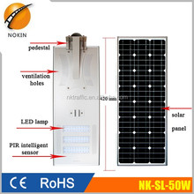 Factory Price of 30W 40W 50W 60W 70W 80W All In One Integrated Solar LED Street Light