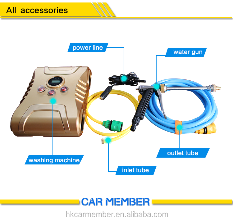 Car Member 12v commercial mechanical automatic tunnel portable car washer
