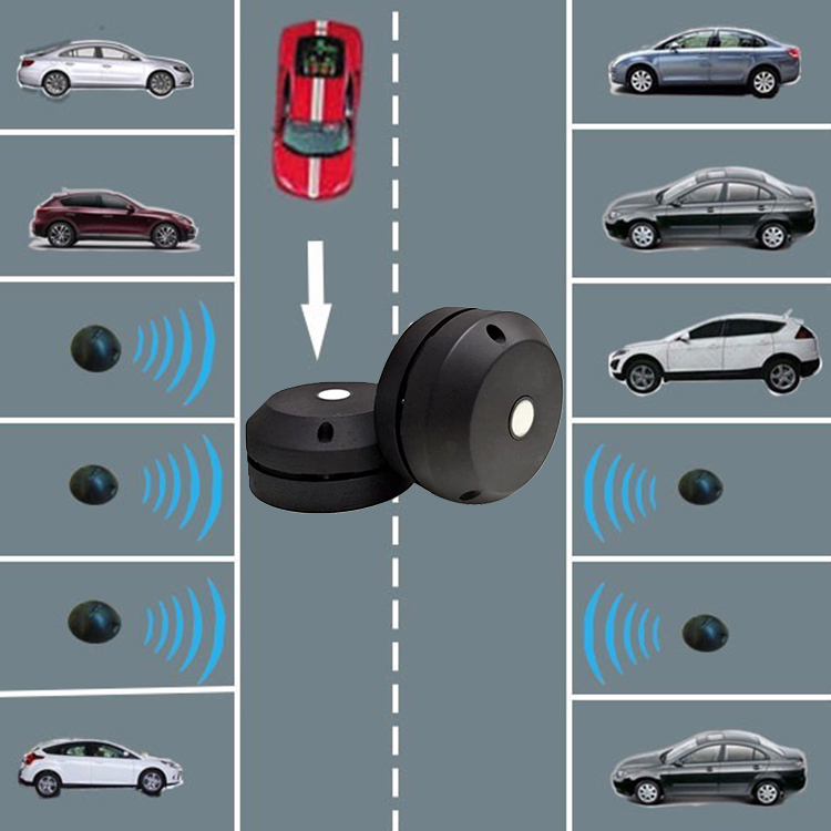 Dingtek New GPRS NB-IoT LoRa Version Parking Occupation Sensor Professional Smart Wireless Parking Sensor
