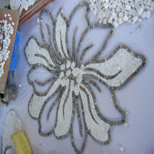 Home exterior wall murals beautifully crafted marble waterjet medallions for tiles