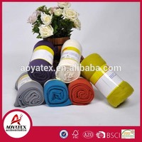 home textile 100% polyester full size China wholesale Production On Time Different Style fleece blanket
