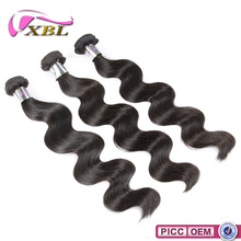 2015 Wholesale XBL Excellent Quality 8A Grade Chemical Free Indian Remy Single Drawn Hair