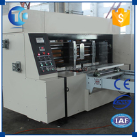 Newest easily operation corrugated board rotary die cutting machine