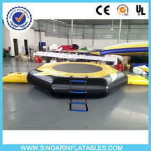 Commercial 0.9mm PVC tarpaulin inflatable water park,water trampoline game