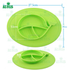 Mini Silicone Baby Feeding Placemat, One-Piece Silicone Placemat Plate for Kids Toddlers Top Quality Food Grade BPA Free