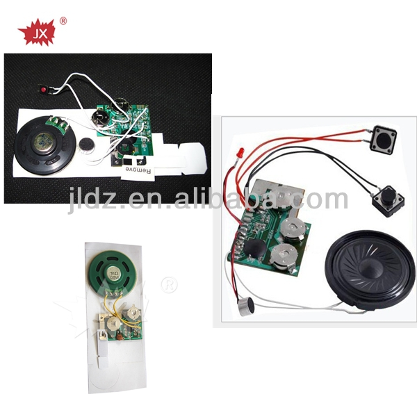 Greeting card voice recording device for all kinds of card