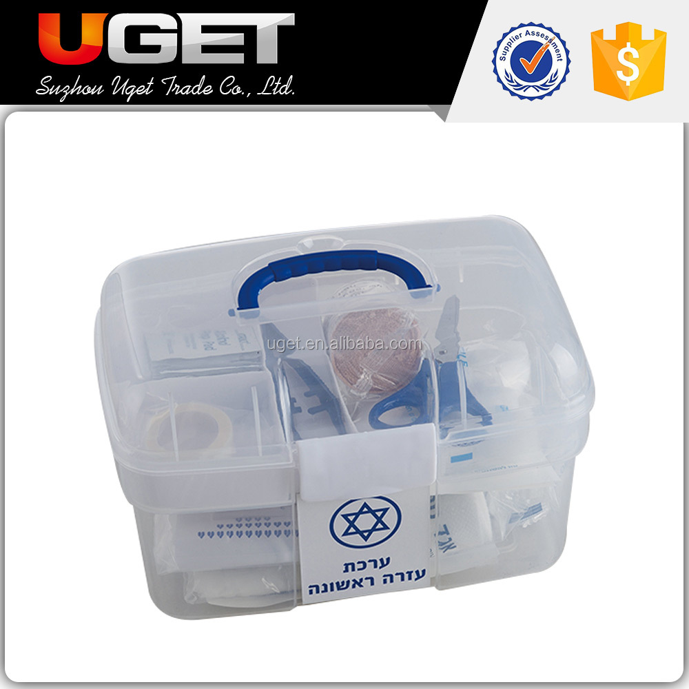 China manufacture supplied product portable empty first aid kit box