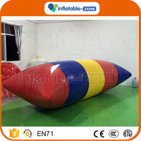 Inflatable water launch inflatable buoy water blob inflatable sea water games