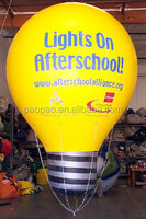 Inflatable Lamp Bulb Custom Helium Balloon, Advertising Inflatable Light Ballon