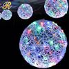 Hanging lighted 3d led Christmas ball