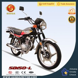 Simple Design Best Performance 150CC Street Motorcycle with Cargo Rack CGL SD150-L