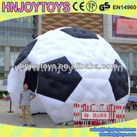 Soccer style air tent, inflatable tent, pneumatic tent for event