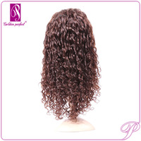 New Jolly Malaysia Hair Natural Kinky Curl Marilyn Lace Front Wig