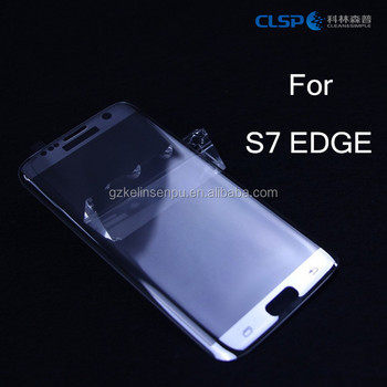 3d glass screen protector for samsung s7 edge tempered glass