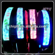 Battery Operated Colorful LED Pet Collar