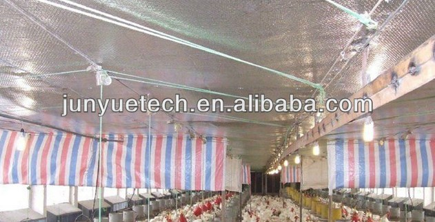 Heat Insulation materials for Poultry House Roof